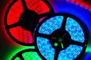 Tiras de LED de colores